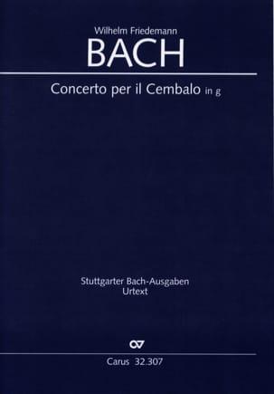 Concerto pour Clavecin et Cordes, en Sol Mineur laflutedepan