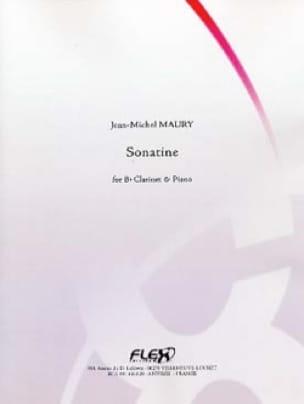 Sonatine - Jean-Michel Maury - Partition - laflutedepan.com