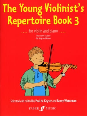 The Young Violonist's Repertoire Book 3 laflutedepan