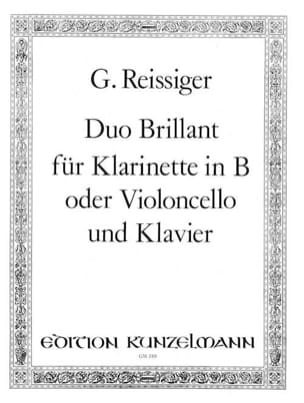 Duo Brillant B Carl Gottlieb Reissiger Partition laflutedepan