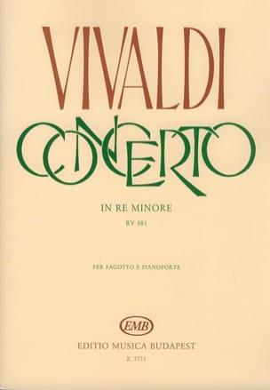 Concerto F. 8 n° 5 RV 481 in re minore VIVALDI Partition laflutedepan