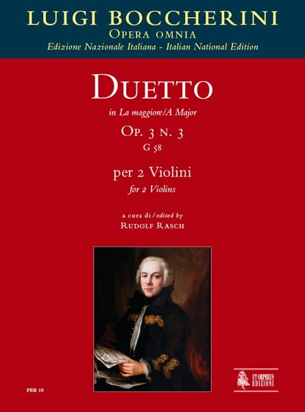 Duetto Op.3 N°3 En la Maj. G.58 - BOCCHERINI - laflutedepan.com