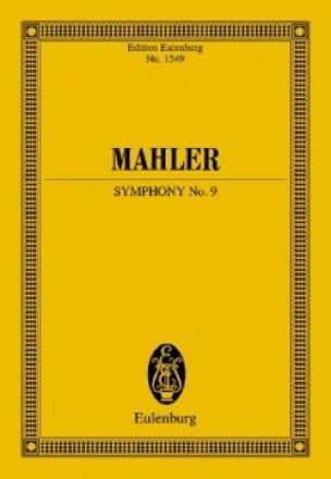 Symphonie n° 9 - Conducteur - MAHLER - Partition - laflutedepan.com