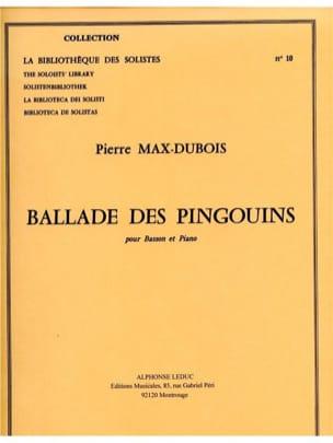 Ballade des Pingouins Pierre-Max Dubois Partition laflutedepan