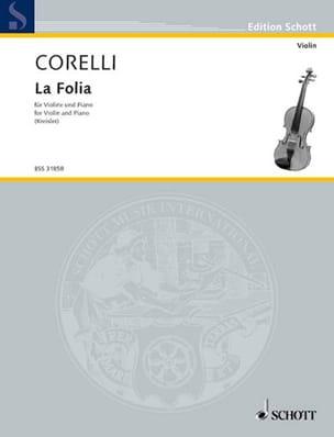 CORELLI - The Folia Kreisler - Partition - di-arezzo.co.uk