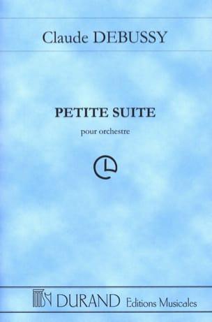 Petite Suite - Orchestre DEBUSSY Partition Grand format - laflutedepan