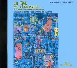 La FM en chansons - CD Marie-Alice Charritat Partition laflutedepan