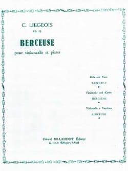 Berceuse op. 25 n° 3 Cornélis Liegeois Partition laflutedepan
