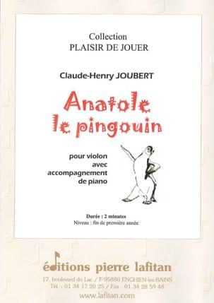 Anatole le Pingouin Claude-Henry Joubert Partition laflutedepan