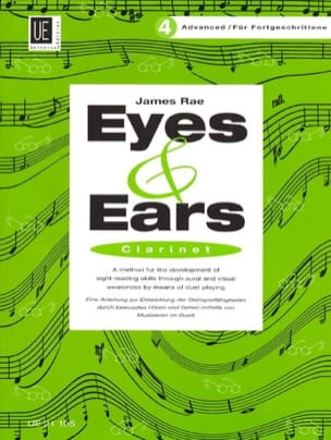 Eyes and Ears - Clarinet - Volume 4 : Advanced James Rae laflutedepan