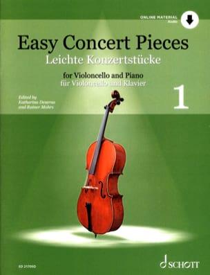 Easy Concert Pieces Volume 1 - Violoncelle et piano - laflutedepan.com