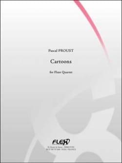 Cartoons - 4 Flûtes Pascal Proust Partition laflutedepan
