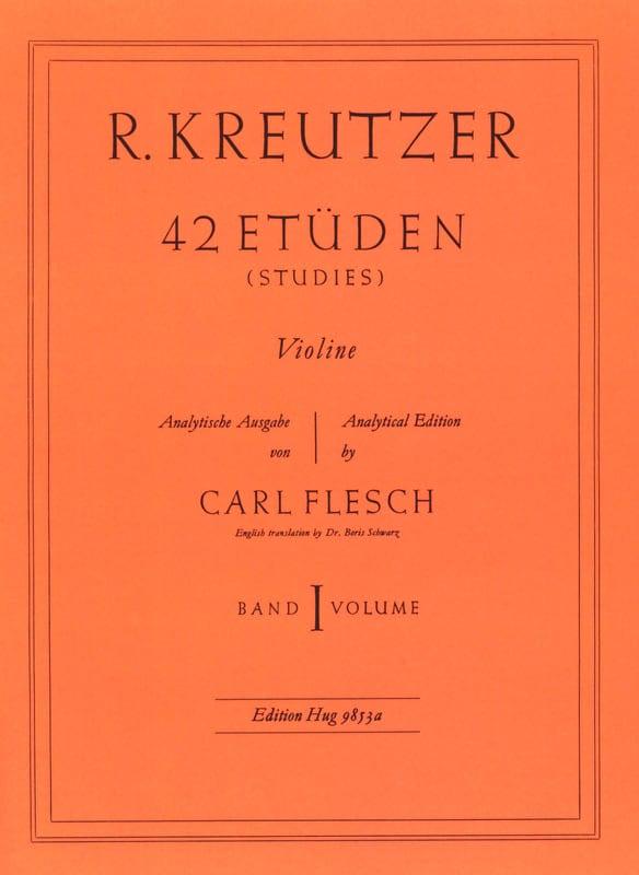 42 Etudes Volume 1 - Rodolphe Kreutzer - Partition - laflutedepan.com