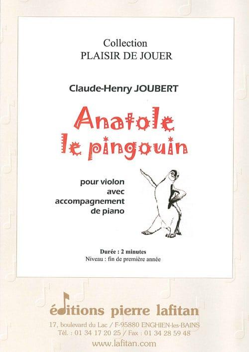 Anatole le Pingouin - Claude-Henry Joubert - laflutedepan.com