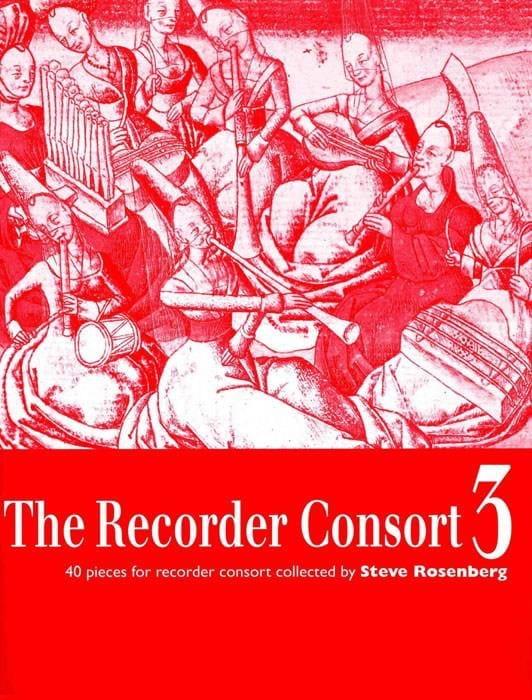 The Recorder Consort Volume 3 - Partition - laflutedepan.com