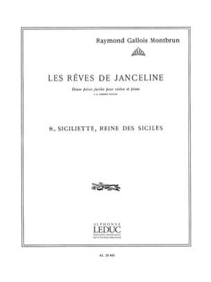 Siciliette reine des Siciles Raymond Gallois-Montbrun laflutedepan