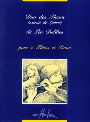 Duo des fleurs Lakmé - 2 Flûtes et piano DELIBES laflutedepan