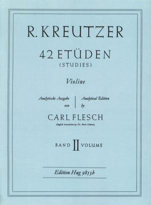 42 Etudes Volume 2 Rodolphe Kreutzer Partition Violon - laflutedepan