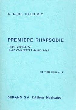 Première Rhapsodie - Conducteur DEBUSSY Partition laflutedepan