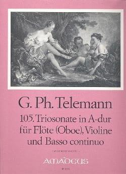 Triosonate Nr. 105 A-Dur -Flöte Oboe Violine u. Bc laflutedepan