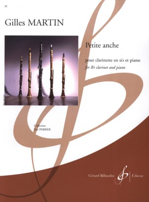 Petite Anche Gilles Martin Partition Clarinette - laflutedepan