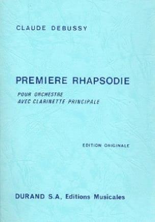 Première Rhapsodie - Conducteur - DEBUSSY - laflutedepan.com