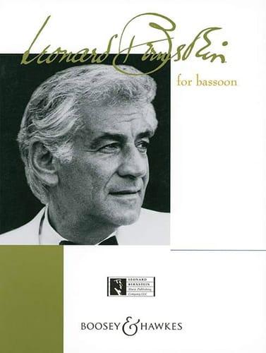 Bernstein For Bassoon - BERNSTEIN - Partition - laflutedepan.com