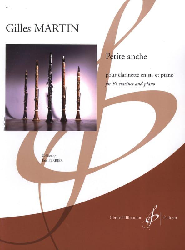 Petite Anche - Gilles Martin - Partition - laflutedepan.com