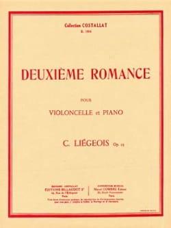 Deuxième romance op. 25 n° 8 Cornélis Liegeois Partition laflutedepan