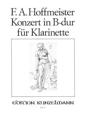 Konzert in B-Dur für Klarinette - HOFFMEISTER - laflutedepan.com