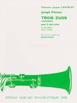3 Duos concertants - 2ème Duo pour 2 clarinettes laflutedepan