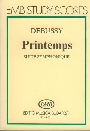 Printemps - Partitur DEBUSSY Partition Petit format - laflutedepan