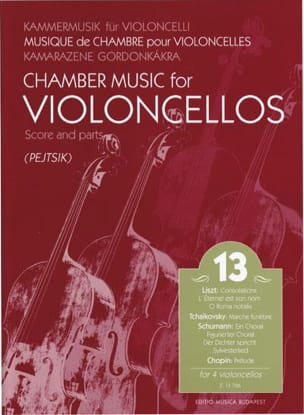 Chamber Music For Violoncellos Volume 13 - laflutedepan.com