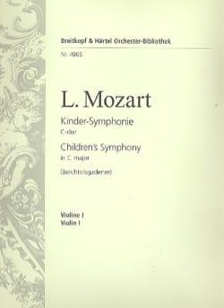 Kinder Symphonie Leopold Mozart Partition laflutedepan