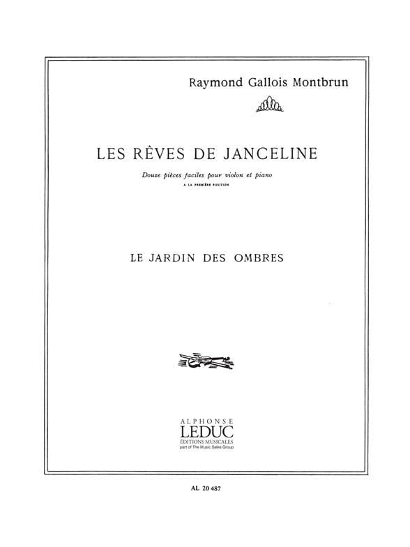 Le jardin des ombres - Raymond Gallois-Montbrun - laflutedepan.com