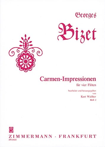Carmen-Impressionen Vol. 2 - BIZET - Partition - laflutedepan.com
