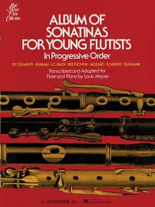 Album of Sonatinas for Young Flutists Louis Moyse laflutedepan
