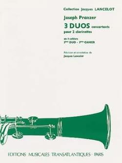 3 Duos concertants - 3ème Duo pour 2 clarinettes laflutedepan