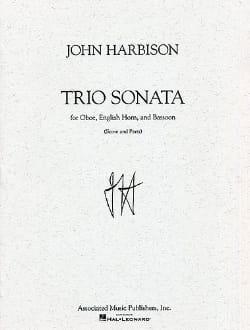 Trio Sonata -Score + Parts John Harbison Partition laflutedepan