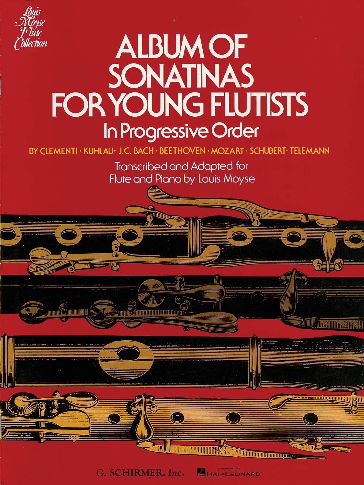 Album of Sonatinas for Young Flutists - Louis Moyse - laflutedepan.com