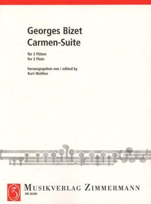 Carmen-Suite - 2 Flöten BIZET Partition laflutedepan