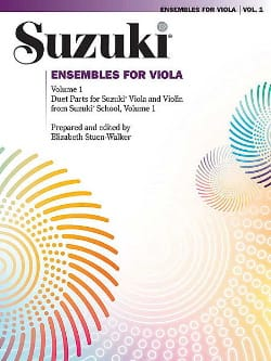 Ensembles For Viola Volume 1 SUZUKI Partition 0 - laflutedepan