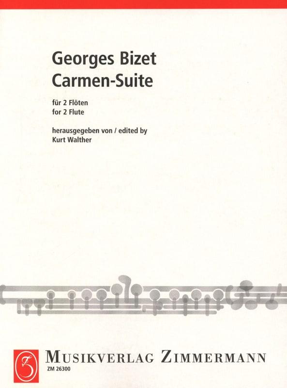 Carmen-Suite - 2 Flöten - BIZET - Partition - laflutedepan.com