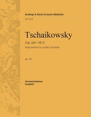 1812. Ouverture solennelle, op. 49 TCHAIKOVSKY Partition laflutedepan
