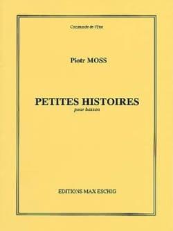 Petites histoires pour Basson Piotr Moss Partition laflutedepan