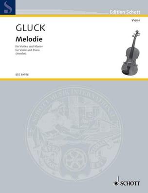 Mélodie GLUCK Partition Violon - laflutedepan