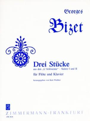 3 Stücke aus den L' Arlésienne - Flöte Klavier BIZET laflutedepan