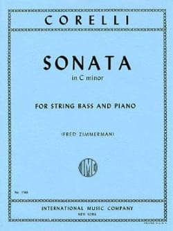 Sonata in C minor - String bass CORELLI Partition laflutedepan