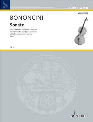 Sonate A-Moll - Violoncello Giovanni Battista Bononcini laflutedepan