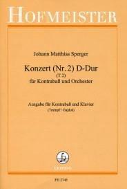 Konzert n°2 D-Dur, T 2 - Kontrabass laflutedepan
